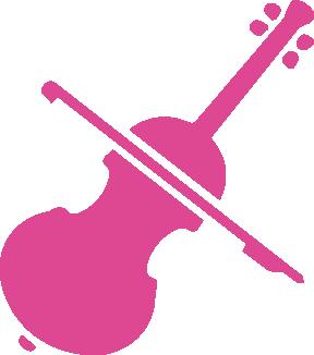 Cello icon. SFE music school