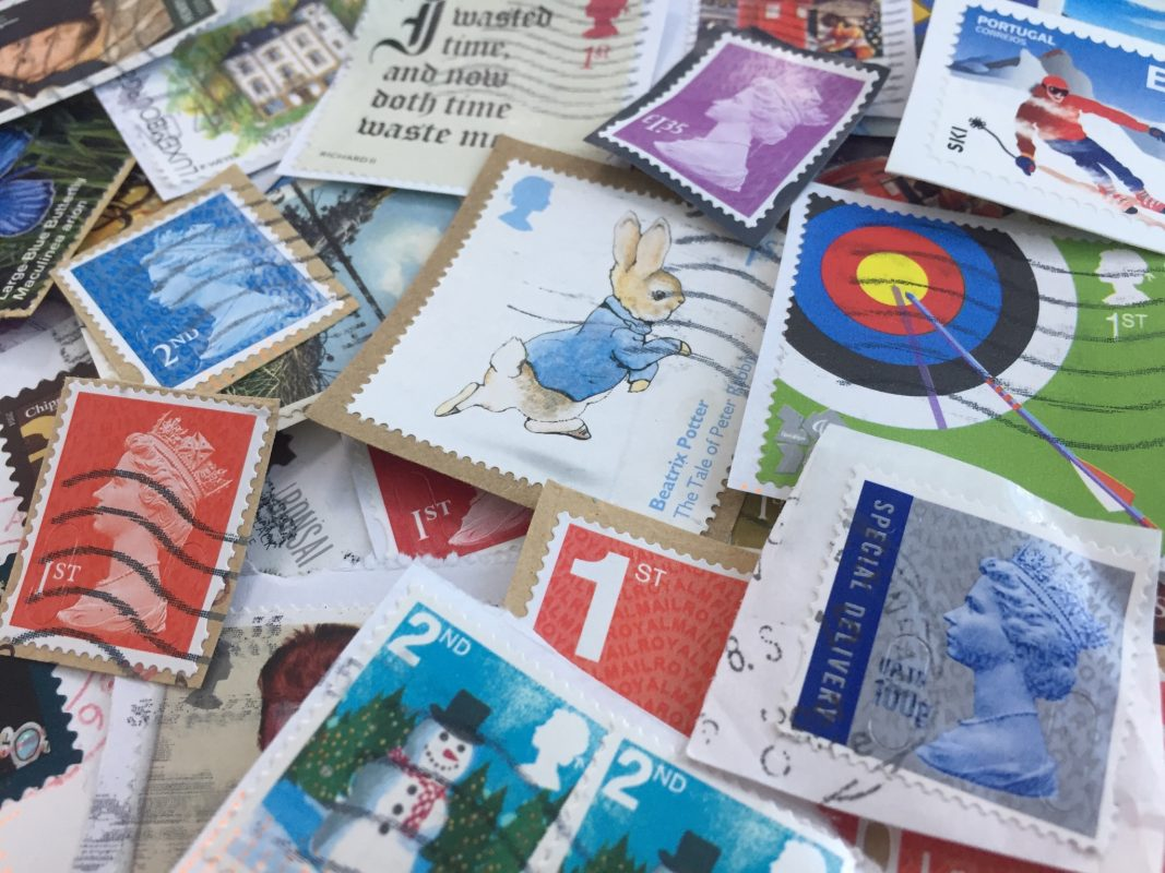 Image of stamps